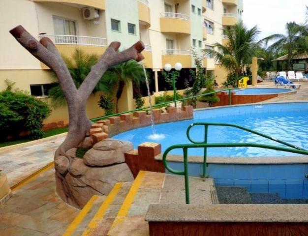 Thermas Place Parcelado - apartamento mobiliado - parque aquático thermas
