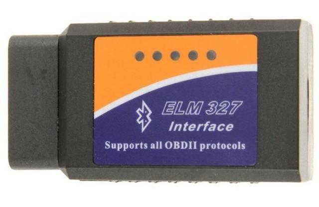 COD-AP37 Obd2 ObdII Elm327 V1.5 Bluetooth RS232 USB Interface de diagnóstico Scanner Ard