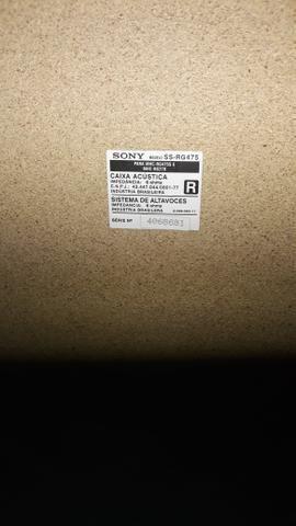 Caixa acústica SONY