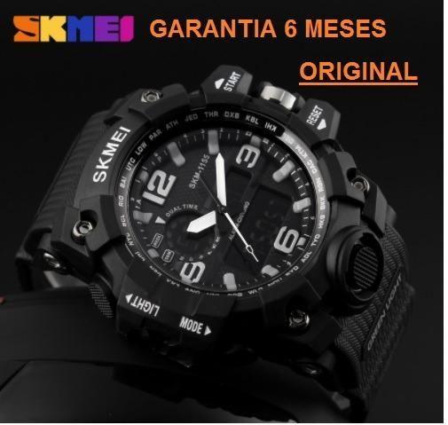 cd13f4247e4 Relógio Skmei S-shock G Shock Dual Time A Prova De Água ...