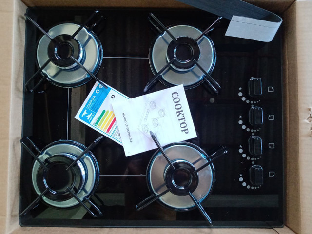 Novo, Fogão Cooktop, 9 8 3 8 9-5 8 1 2 na caixa - Foto 4