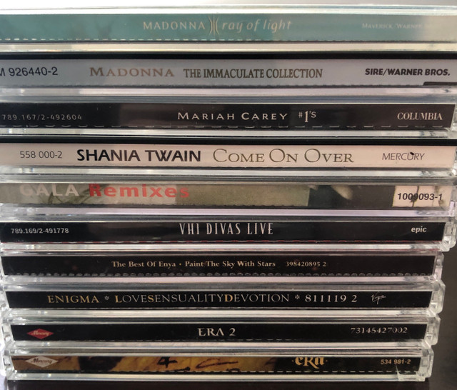 Lote CDs internacionais