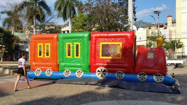 Trenzinho inflável - Foto 3