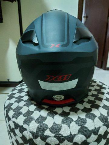 Capacete X 11 robocop com óculos interno top !!!!! - Foto 4