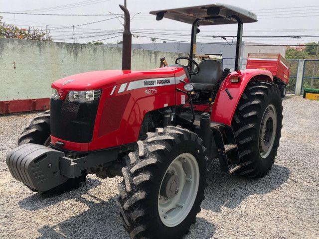 Trator MF 4275 ano 2015
