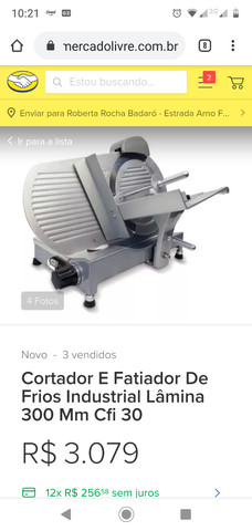 Fatiadora elétrica
