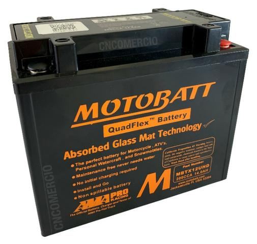 Bateria Motobatt Hd Sportster 883/1200 Bmw R1200 Gs 05-12 Hayabusa 1300 Mbtx12u Ytx14hbs - Foto 2