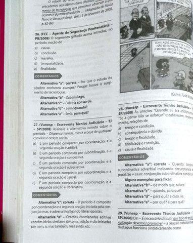 Duas gramáticas: Gramática para concursos Pestana e Revisaço - Foto 3