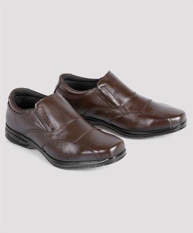 Sapato conforto sem cadarço