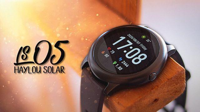 Só Hoje - Relogio Inteligente Xiaomi Smartwatch Haylou SolarLs05 - 100% original - lacrado - Foto 3