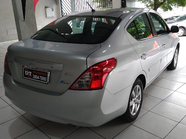 Nissan versa 1.6 sl flex 2013 - Foto 7