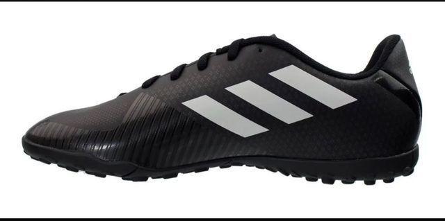 Chuteira society Adidas nova na Caixa - Foto 4