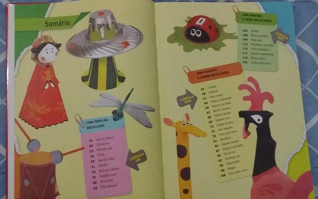 Livro Oficina de brinquedos com material reciclado - Foto 2