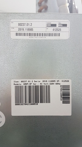 Geladeira/Refrigerador Comercial Inox 4 Portas Cegas GREP-4P Gelopar<br><br> - Foto 5