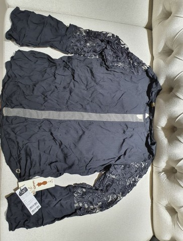 Blusa preta tamanho M, Nova - Foto 2