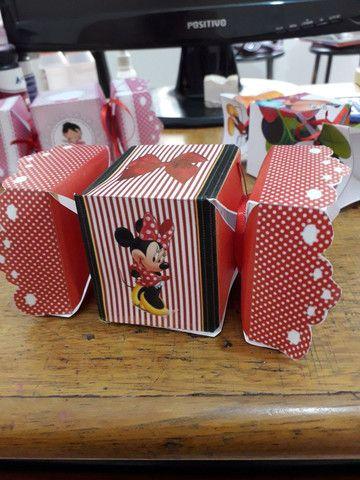 Caixinhas de papel  - Foto 4