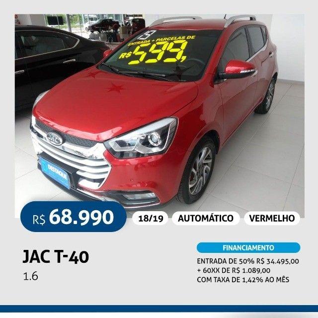 jac T-40 1.6  automático - 2019