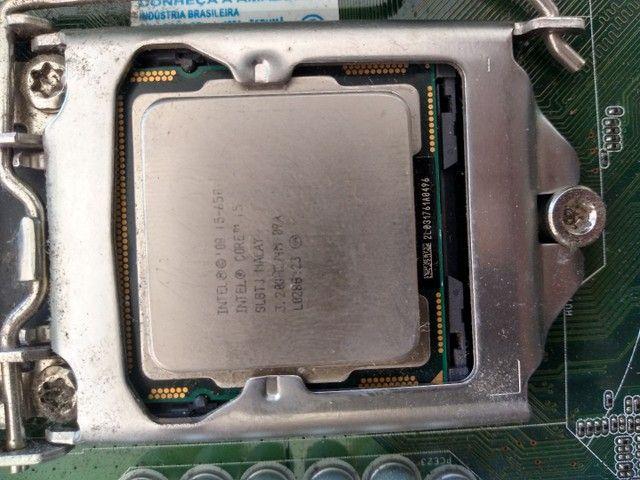 Kit placa mãe e placa de vídeo 2giga - Foto 4