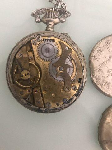 Relógio de bolso antigo Roskopf patente  - Foto 2