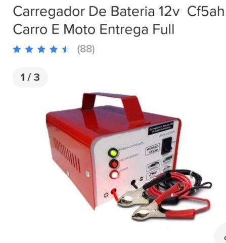 Carregador de bateria carro e moto - Foto 6