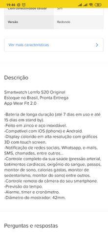 Smartwatch S20  - Foto 6