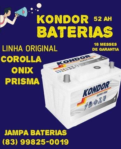 Bateria kondor 52 AH  ONIX ,Prisma ,Corolla, HB20