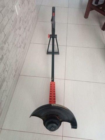 Cortador Aparador de grama troco ps2 - Foto 2