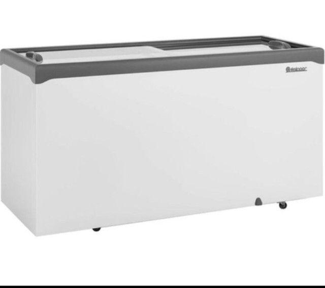 Freezer GELOPAR NOVO E ECONÔMICO ! Com nota  - Foto 2