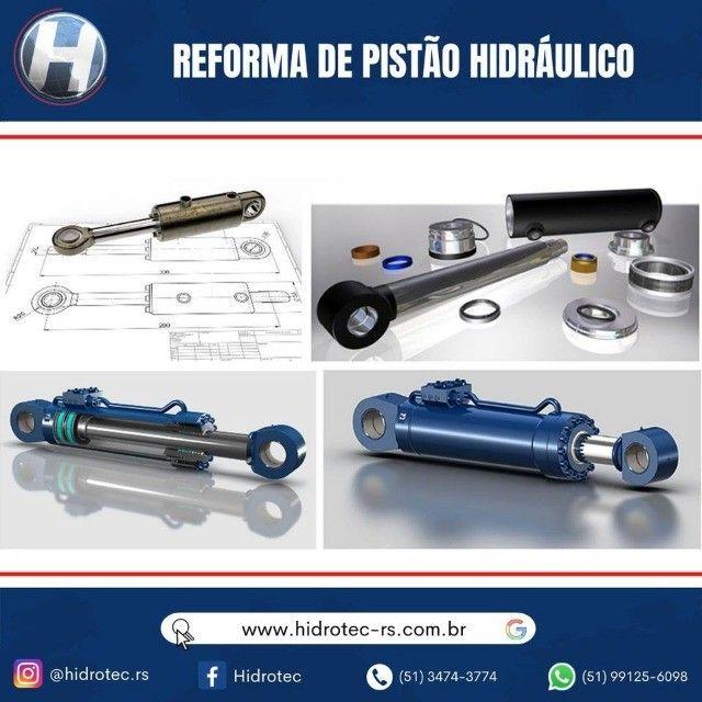 Pistão Hidráulico ! Reforma e manutenção