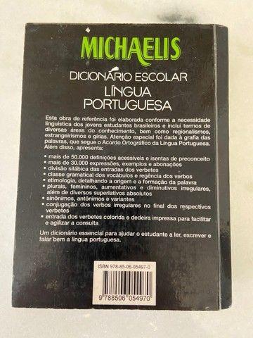 Dicionário Escolar Michaelis - Língua Portuguesa - Foto 3