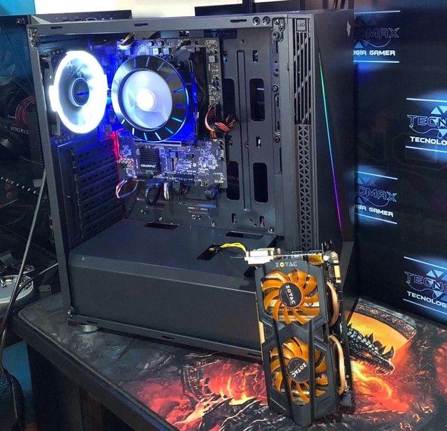 PC Gamer Ryzen 5 1600, c/ GTX 660 Zotac Novo - Foto 2
