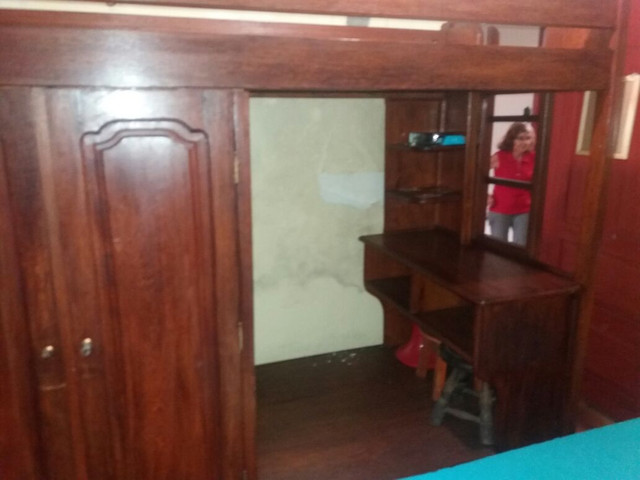 Beliche guarda-roupa escrivaninha armário 4 em 1 - Foto 3