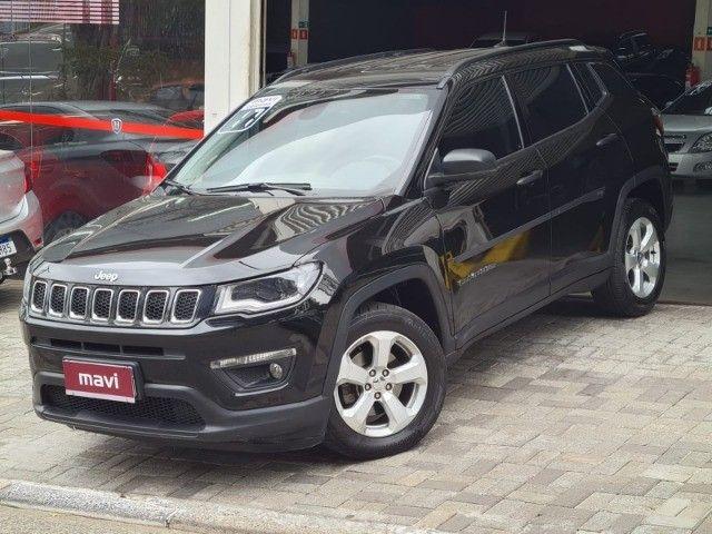 Jeep Compass 2017 2.0 Sport automático flex completo novissímo - Foto 3
