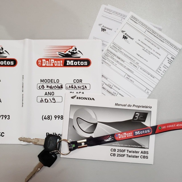 Honda CB 250 Twister 2019 ABS (2500km) - Foto 10