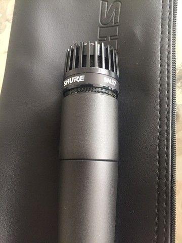 Microfone Shure SM57 - Original - USA - Oportunidade - Foto 2