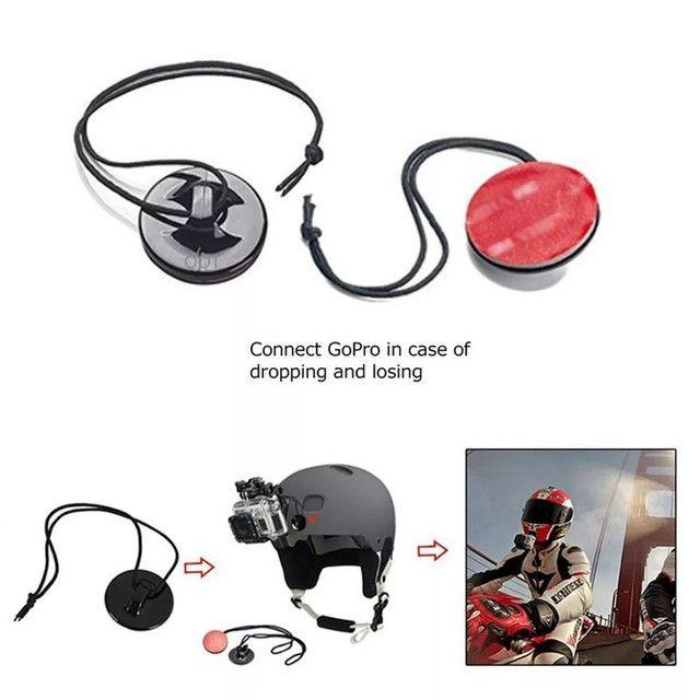 Correia strap de segurança para gopro hero 3/4/5/6/7/8/9 e similares GoPro action cam