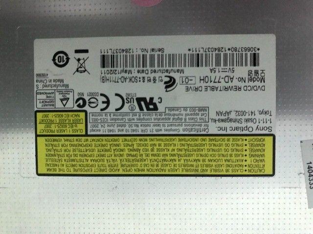Gravador Drive Dvd de Notebook - Foto 2