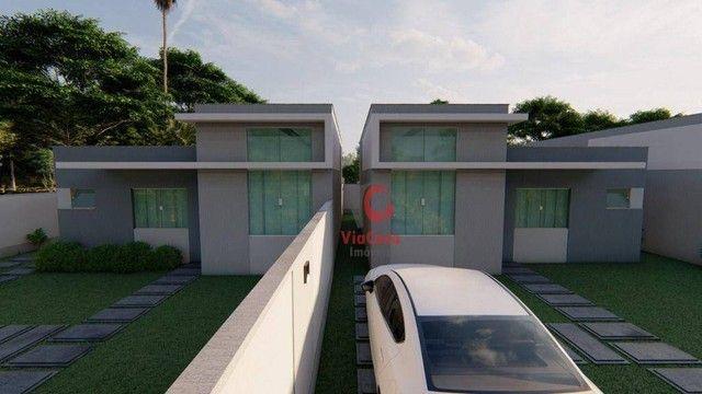 Casa Linear com 3 Quartos Sendo 1 Suíte à venda, 80 m² por R$ 280.000 - Enseada das Gaivot - Foto 6