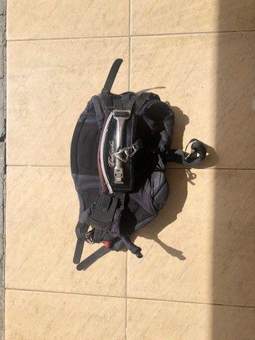 Kitesurf completo Cabrinha Vector 11 - 2012 + prancha e trapézio  - Foto 5