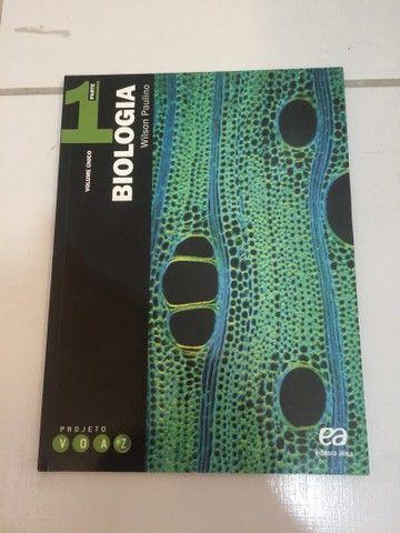 Biologia Projeto Voaz - Wilson Paulino (Editora Ática) - Foto 2