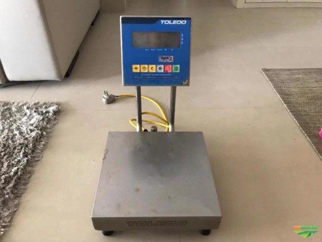 Balança Toledo Eletrônica De Bancada 2096h 50kg