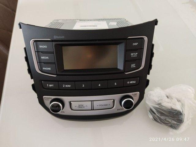 Rádio HB20 novo