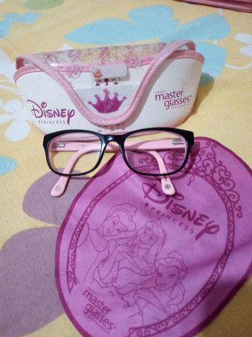 Oculos infantil princesa