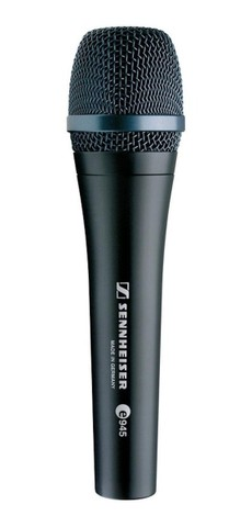 Microfone Sennheiser E-945 Supercardíoide - Original - Made in Germany