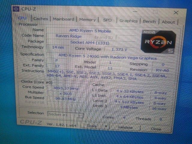 Kit Ryzen 5 com 12GB de memória - Foto 3