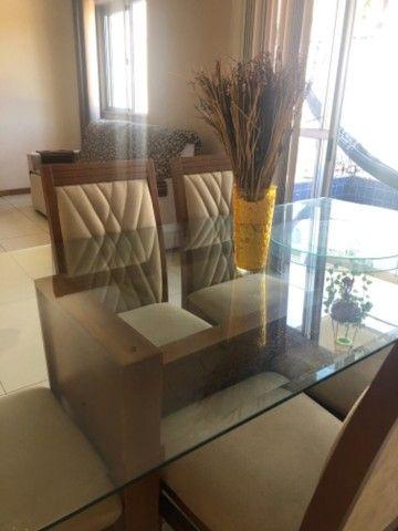 Mesa 6 lugares  em madeira maciça