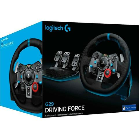 fd9aae57610 Volantes Logitech G29 e G920 para Ps4 e Xbox One - Videogames ...