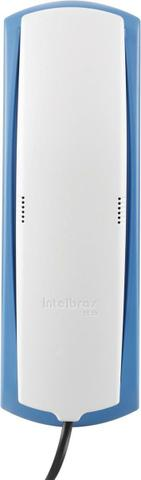 Telefone com fio Gôndola Color Tc 20 Cinza Ártico/Azul Intelbras - Foto 2