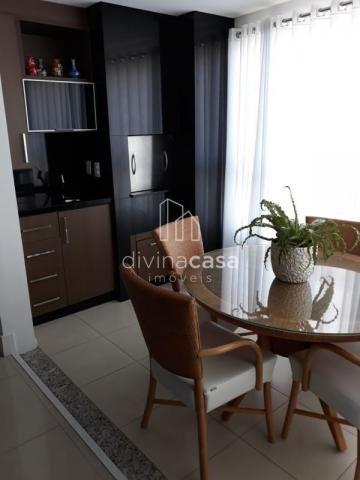 Lindo apartamento semi mobiliado, suite master mais duas suítes, em ótima localização! - Foto 7