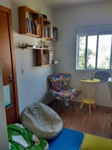 Apartamento com 3 dormitórios à venda, 69 m² por r$ 265.000,00 - vila monte carlo - cachoe - Foto 4